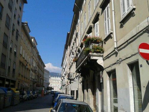 Trieste summer balcony