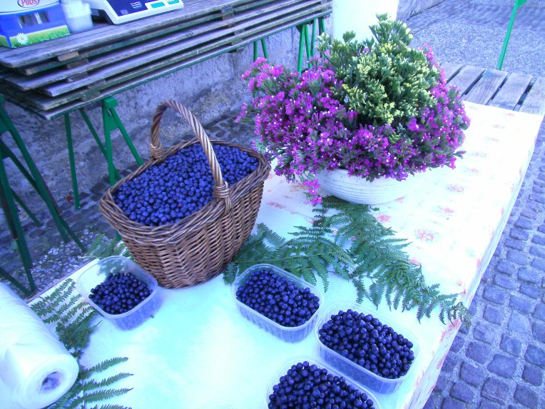 Blueberries for sale