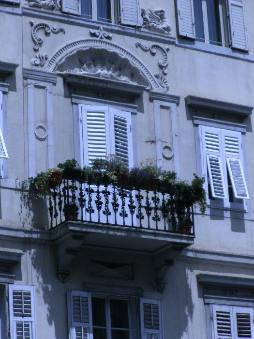Balcony greenery, Trieste