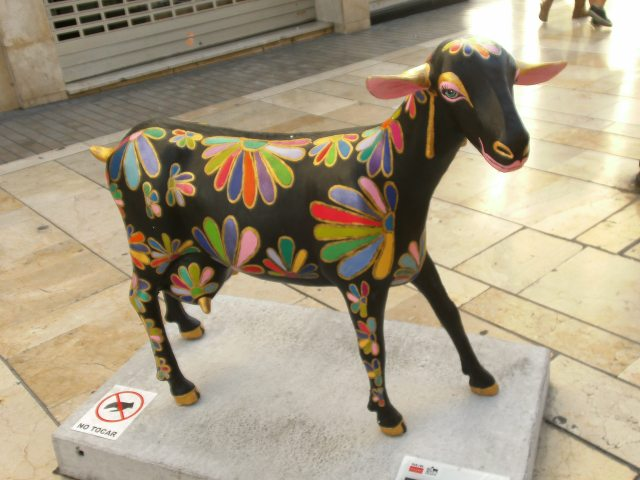Floral goat from Malaga