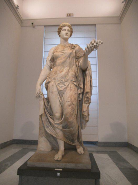 Flora major, Museo archeologico nazionale, Napoli