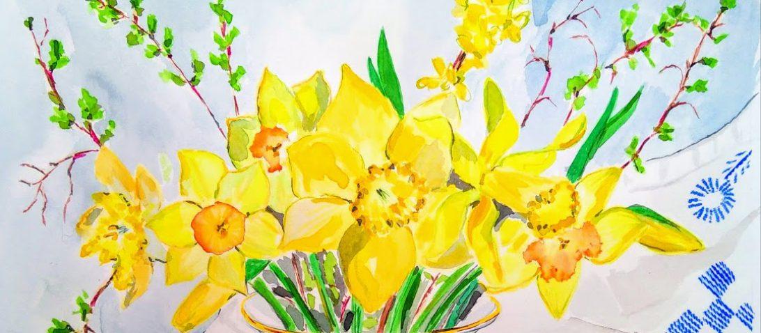 My Botanical Garden U2013 Tamara Jare Contemporary Painting Blog